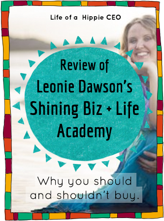 review leonie dawson shining biz and life academy