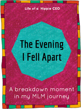 the evening i fell apart