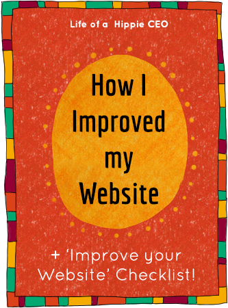 how i improved my website + improve your website checklist
