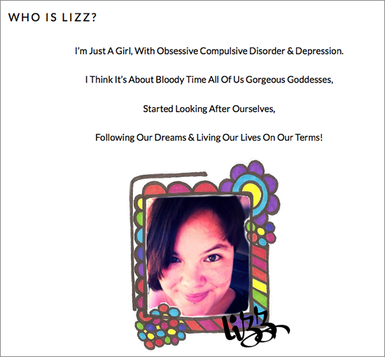 who is lizz website review