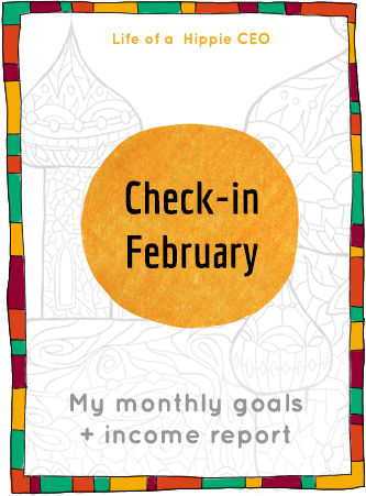 Check-in February 2015 - My income report + goal setting