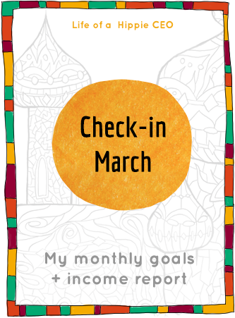 Check-in and Income Report March 2015