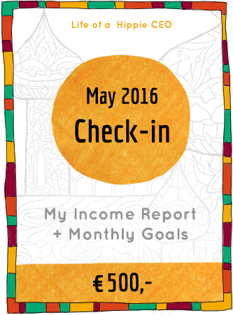 Check-in + Income Report May 2016