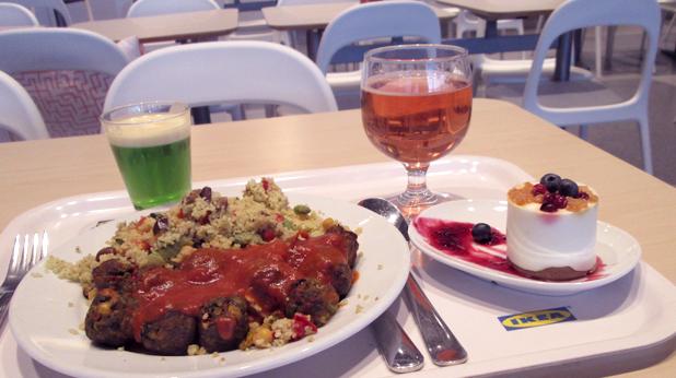 Ikea dinner