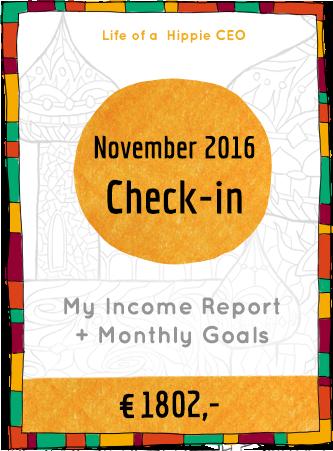 Income report november 2016