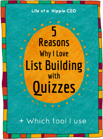 list building with quizzes