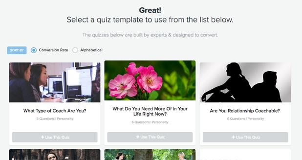 quiz templates